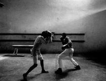 Lefthander-defender by Henk Bleeker