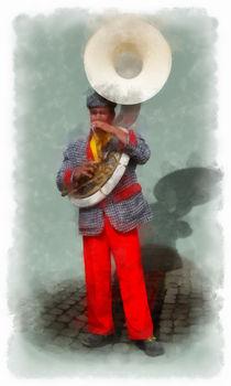Woortman-w-clown-6-aquarell