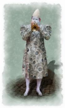 Woortman-w-clown-4-aquarell
