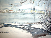 Winter in der Konstanzer Bucht von Christine  Hamm