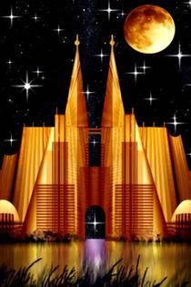 Golden Gate in fantasy land. von Bernd Vagt