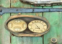 Tachometer by Guido-Roberto Battistella