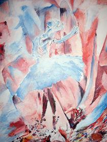 Swan Flower von Christopher Kakeeto