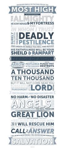 Psalm 91 von ink-prince