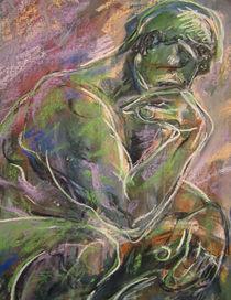 Rodin's thinker by Núria Vives