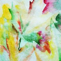 Autumn maple leaves von Katia Boitsova-Hošek