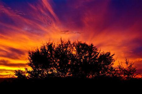 Burning-sky