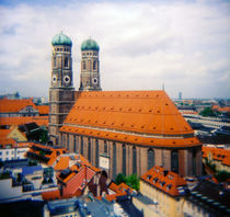 Frauenkirche Munich Bavaria Germany by Kevin W.  Smith