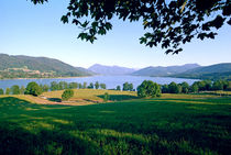 Tegernsee Evening Bavaria Germany by Kevin W.  Smith