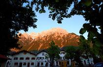 Mittenwald Evening Bavaria Germany von Kevin W.  Smith
