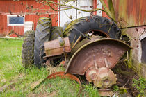 Old tractor parts  by kbhsphoto