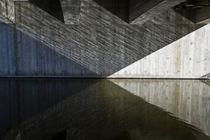 Geometrical shapes under a bridge by kbhsphoto
