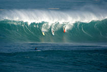 Eddie Would Go Big Wave Contest Waimea Bay Hawaii by Kevin W.  Smith