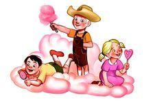 Candy Floss Cloud by Alexandra Cotumbeanu