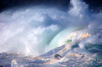 Waimea Bay Shorebreak Surf North Shore Oahu Hawaii von Kevin W.  Smith