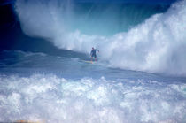 Waimea Bay Avalanche North Shore Oahu Hawaii von Kevin W.  Smith