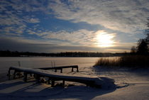 Winterimpression am See by tinadefortunata