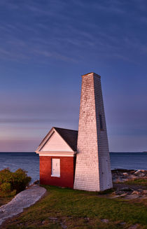Pemaquid Point Bell House, Maine, USA von John Greim