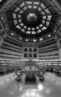 Melbourne State Library by Riady Santoso
