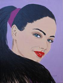 Frauenportrait von Petra Koob