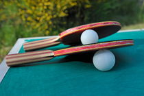 Table Tennis Rackets by Sami Sarkis Photography
