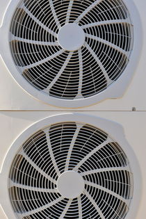 Air-conditioner rear fans by Sami Sarkis Photography