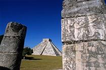 Chichen Itza pyramid of Kukulcan von Sami Sarkis Photography