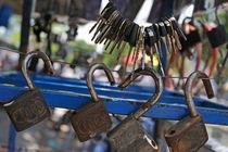 Padlocks and keys by Sami Sarkis Photography