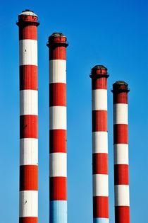 Thermal powerplant chimneys von Sami Sarkis Photography