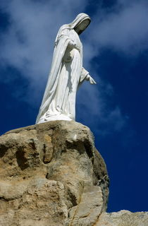 Virgin Mary statue von Sami Sarkis Photography
