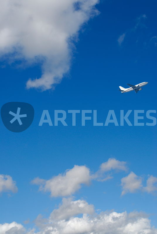Zoom Like Comment Embed Description Commercial Airplane In Flight