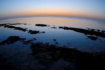 Dawn over the sea von Sami Sarkis Photography