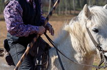 Gardians riding horse by Sami Sarkis Photography