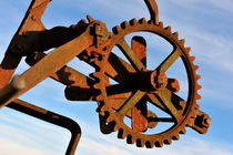 Rusty gears mechanism by Sami Sarkis Photography