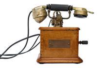 Antique Marty 1910 telephone von Sami Sarkis Photography