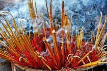 Burning incense by Sami Sarkis Photography