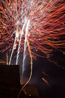 Bastille Day Fireworks by Sami Sarkis Photography