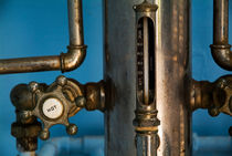 Faucet of a 19th century shower by Sami Sarkis Photography