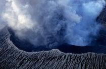 Smoking crater of Mount Benbow by Sami Sarkis Photography