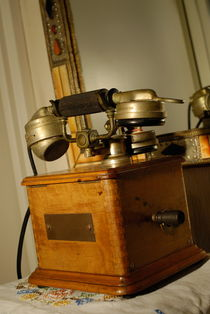 Antique Marty 1910 telephone by Sami Sarkis Photography