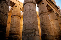 Colonnade in the Karnak Temple Complex at Luxor by Sami Sarkis Photography