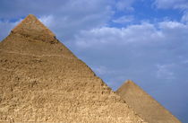 View of The Khephren Pyramid and The Great Pyramid by Sami Sarkis Photography