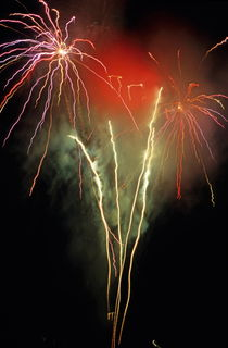 Firework display by Sami Sarkis Photography