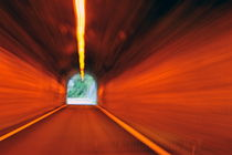 Blurred motion in a road tunnel by Sami Sarkis Photography