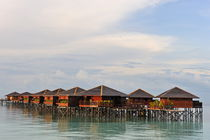 Wooden water bungalows by Sami Sarkis Photography