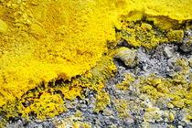 Volcanic sulphur von Sami Sarkis Photography
