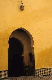 Entrance door in Morocco von Sami Sarkis Photography