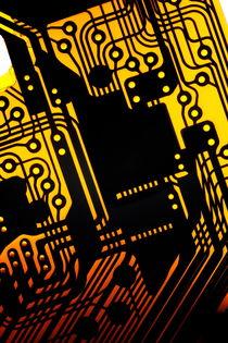 Electronic circuit by Sami Sarkis Photography