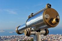 Eyeglass overlooking Marseille von Sami Sarkis Photography