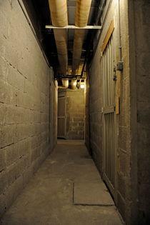 Underground corridor von Sami Sarkis Photography